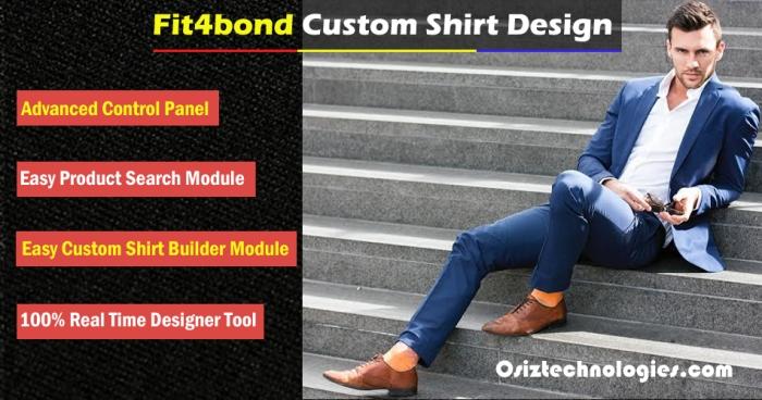 Fit4Bond Custom Shirt Design