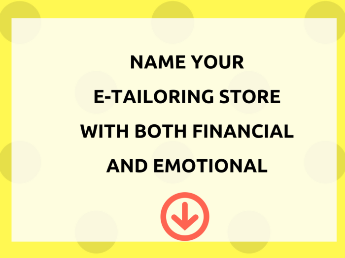 owning an e-tailoring store both financial and emotional (1)