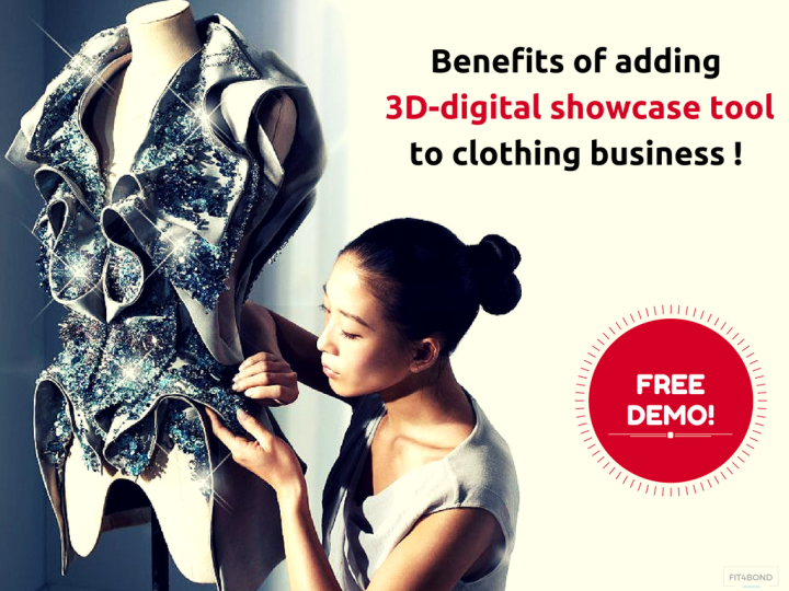How 3d Design Showcase Tool Can Make Online Tailoring Clothing Business To Be More Successful Fit4bond Complete Online Tailoring Business Solutions
