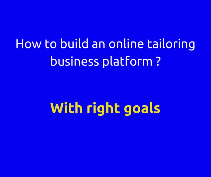 Online tailoring(7)